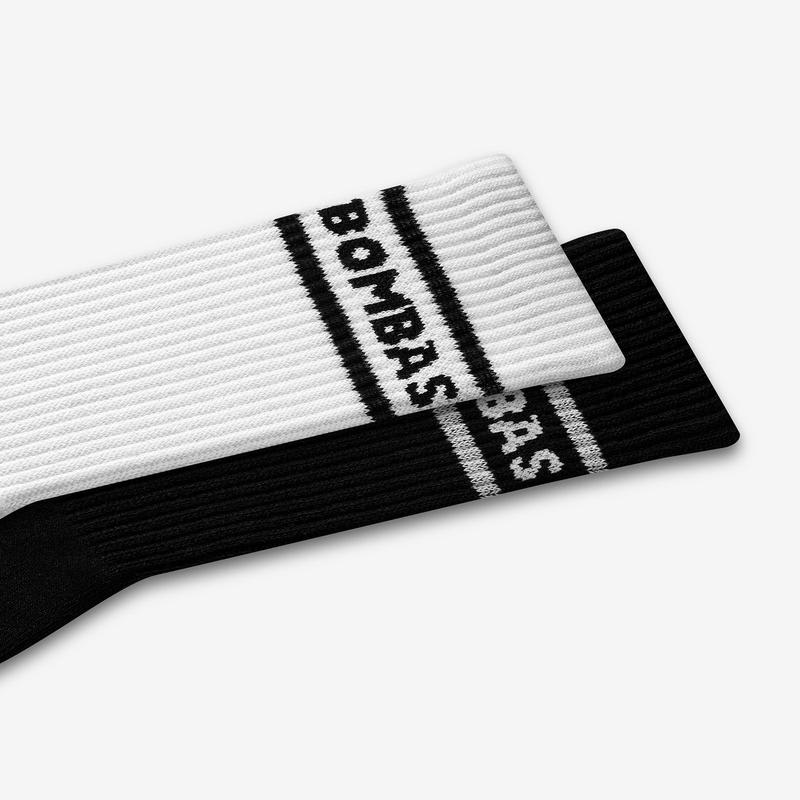 Youth Bombas Banner Calf Socks