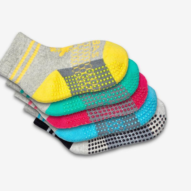 Toddler Gripper Sock 4-Pack