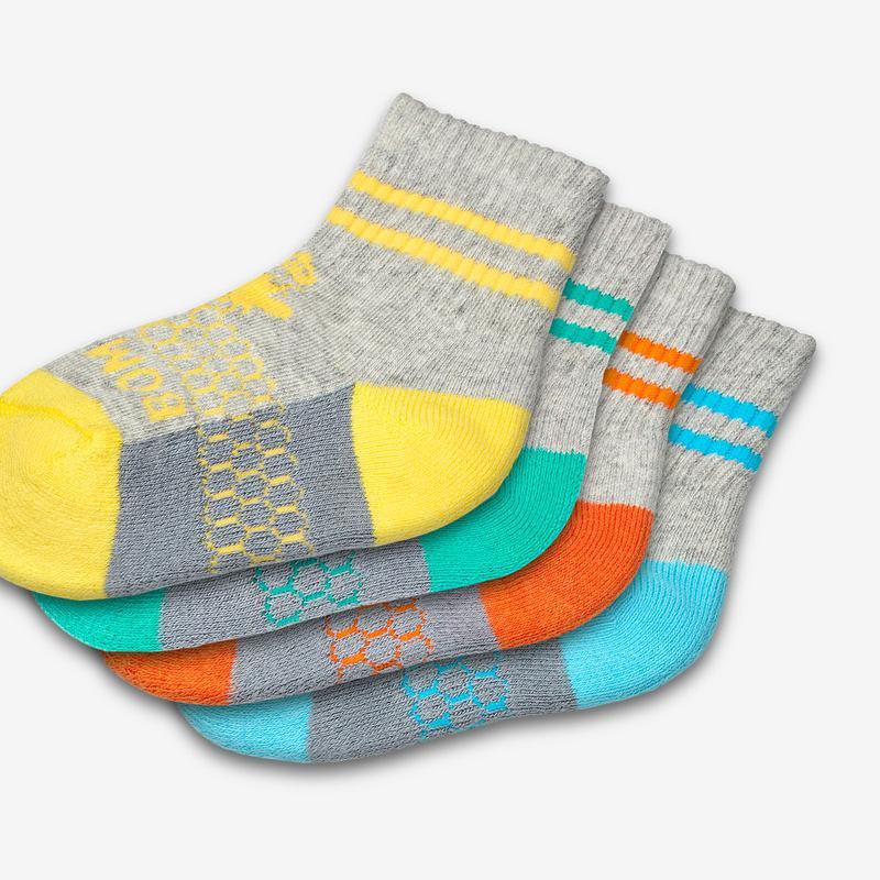 Toddler Calf Sock 8-Pack