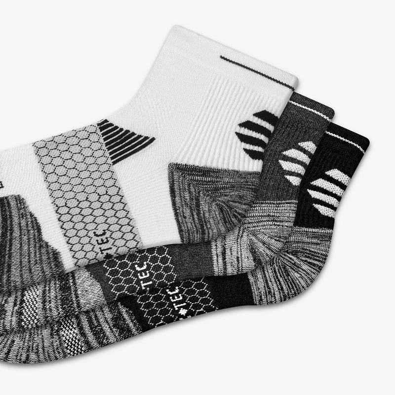Women's Performance Running Quarter Sock 3-Pack