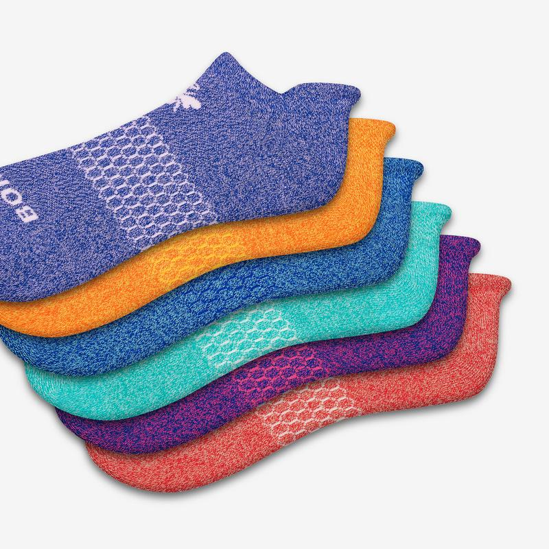 Bright Marls Ankle Sock 6-Pack