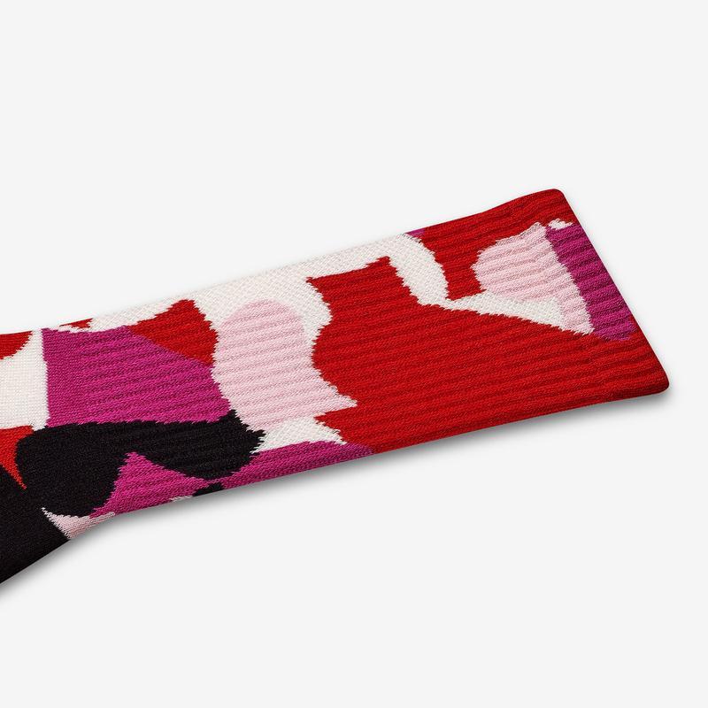 Valentine's Day Calf Socks