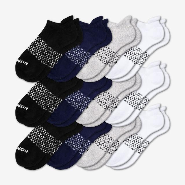 solids Women's All-Ankle Sock 12-Pack