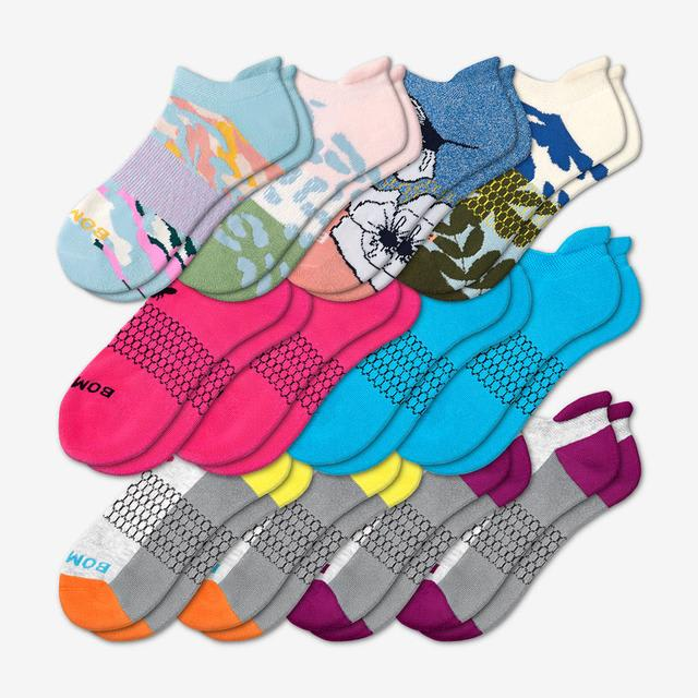 spring-fling Women's All-Ankle Sock 12-Pack