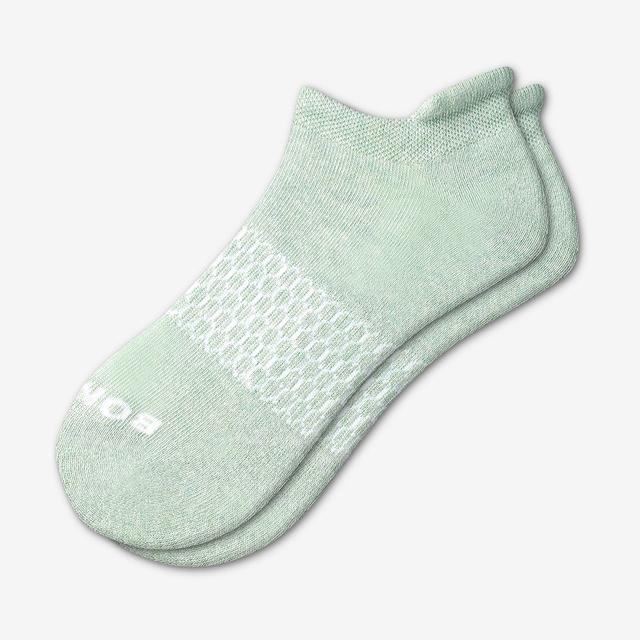 spring-green Women's Solids Ankle Socks