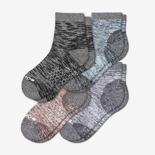 spring-mix Women's Hiking Quarter Sock 4-Pack