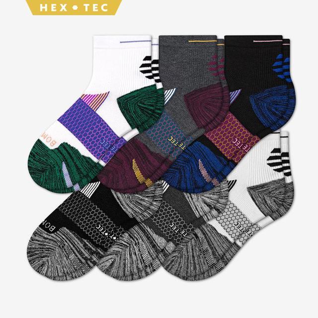 summer-mix Women's Performance Running Quarter Sock 6-Pack