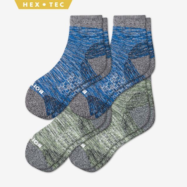 summer-mix Men's Hiking Quarter Sock 4-Pack