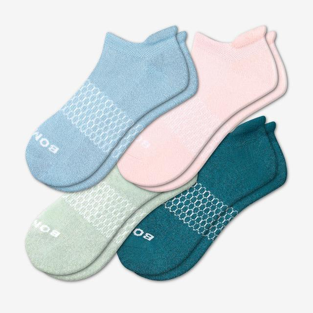 summer-mix Women's Solids Ankle Sock 4-Pack