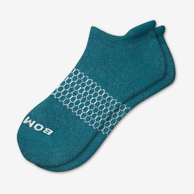 teal Women's Solids Ankle Socks