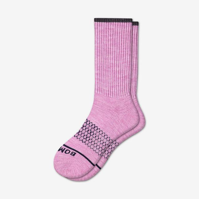 violet Women's Merino Wool Calf Socks