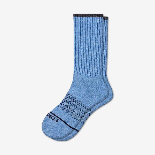 wave Men's Merino Wool Calf Socks