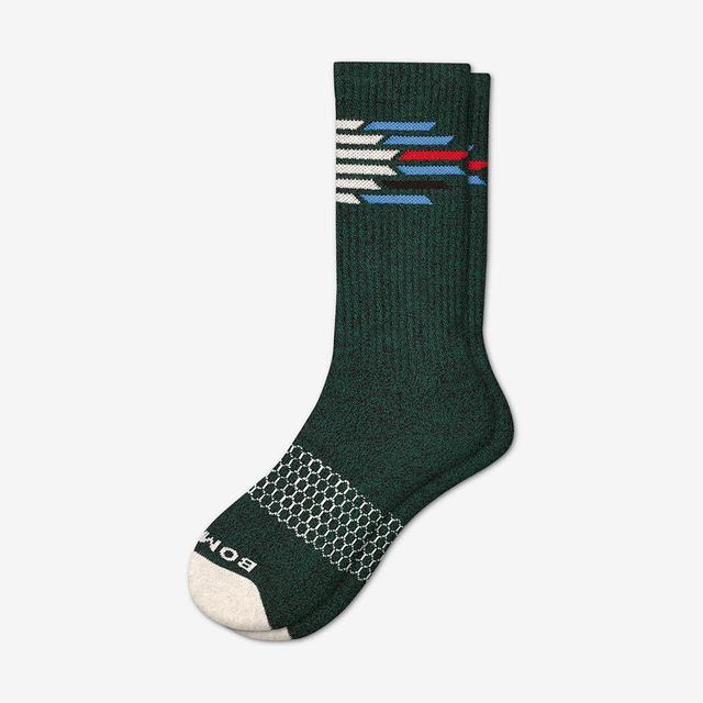 winter-green Men's Nordic Calf Sock