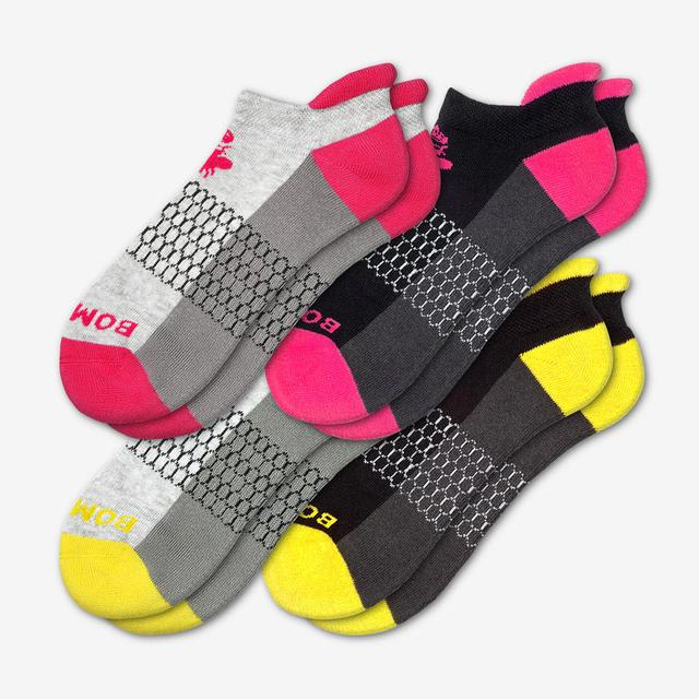 yellow-pink Women's Originals Ankle Sock 4-Pack