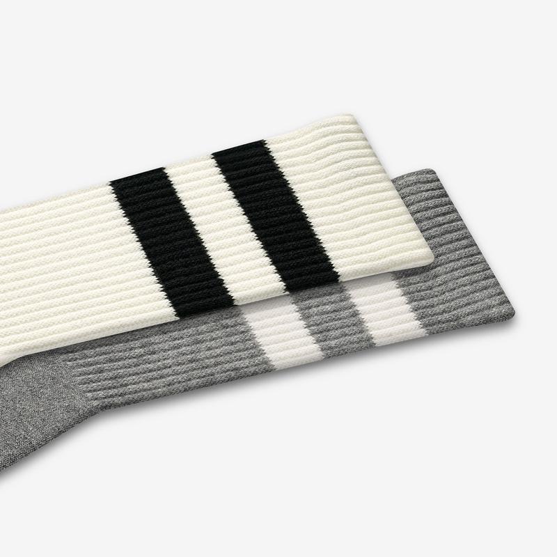 Men's Vintage Stripe Calf Sock 6-Pack